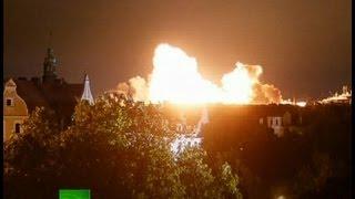 Video: Huge blast as WW2 bomb detonated in Germany