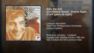Billy the Kid (Orchestral Suite) : Prairie Night (Card game at night)