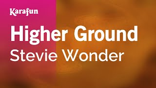 Karaoke Higher Ground - Stevie Wonder *