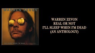 Warren Zevon - Real or Not w/Lyrics