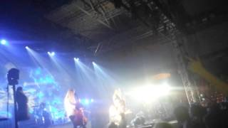 Apocalyptica - Hole in my soul (Skopje 17.10.2015)