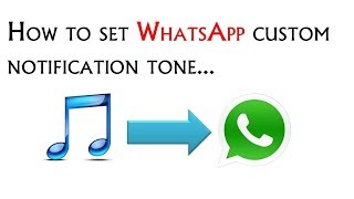 How to Change or Customize WhatsApp Ringtone
