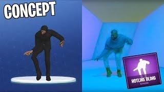 Fortnite: Drake Hotline Bling Emote