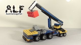 Lego Creator 31033 Modell 3v3 Mobile Crane / Kranwagen - Lego Speed Build Review