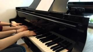Hall of Fame - The Script will.i.am - Piano Cover four hands