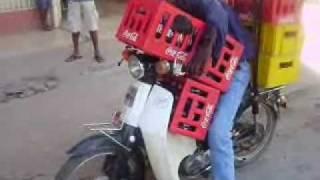 Angola no seu melhor mota de carga