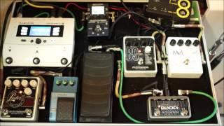 Electro Harmonix Mel9 / B9 / LesterK demo with acoustic guitar