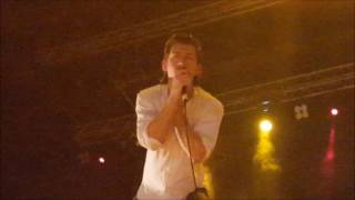 Alex Turner Gets Hit By a Cheese Burger And A Bra 2016 ( Rockwave Festival Greece )