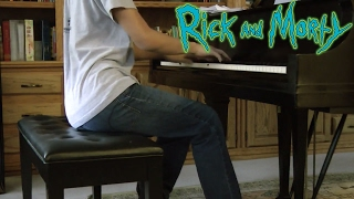 Rick and Morty Opening Theme (Piano Cover)
