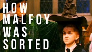 How Draco Malfoy Was Sorted