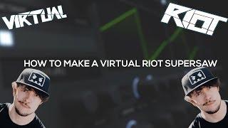 Fl Studio 12 : Sound Design #1 Virtual Riot Supersaw