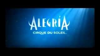 CIRQUE DU SOLEIL - ALEGRÍA - promo roll