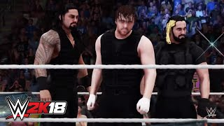 Entrada de The Shield en WWE 2K18