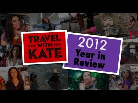 Where in the World Kate went in 2012!