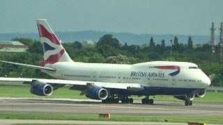 Heathrow Spotting - Heavies from Terminal 2