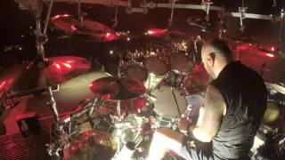 Disturbed on Tour: Ten Thousand Fists Drum Footage