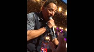 "BRUCE SPRINGSTEEN - ""Hungry Heart"" - Dallas - 04/06/2014"