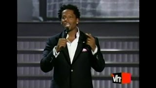 DL Hughley no-holds barred monologues Big in '05 Awards