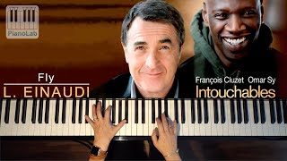Les Intouchables - Fly - Ludovico Einaudi - piano cover