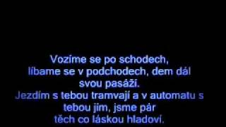 Michal David - Nesnáším loučení (Láska z pasáže) + text