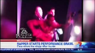 Chris Brown Protege Kevin McCall Gets Jumped By Fans At Concert
