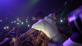 NBA YOUNGBOY GETS PULLED OFF STAGE BY FANS DURING LIVE PERFORMANCE