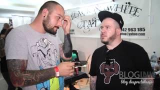 Interviu despre tatuaje cu Toni Logo - Brasov