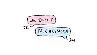 BTS Jungkook & Jimin - We Don't Talk Anymore 3D Audio