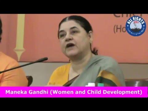 Smt. Maneka Gandhi Ji about DF