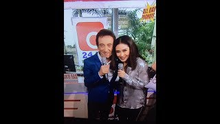 World Music Awards winner SARAH GERONIMO with Grammy winner DAVID POMERANZ reunite in ASAP 2017