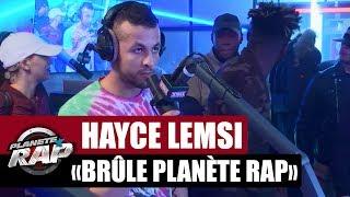 Hayce Lemsi met le feu à Planète Rap !