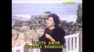 "AMALIA RODRIGUES ""TRISTE AMOR"""