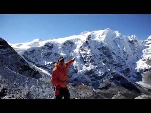 Mera Peak, 6476 meter. The highest trekking peak