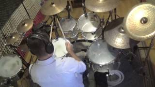 Pesado - beso a beso - cover drums Oscar Jimenez