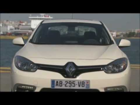 2013 yeni new facelift makyajlı Renault Fluence Sedan tanıtım videosu // ototest.tv