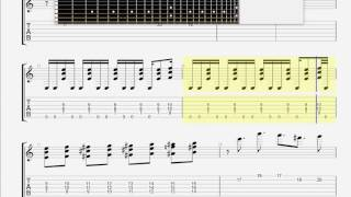 Buckethead   Buckethead   Power Rangers Theme Improved GUITAR 1 TAB
