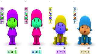 Talking Pocoyo  Learn Colors with MyColours for Kids Animation Education Cartoon 24 08