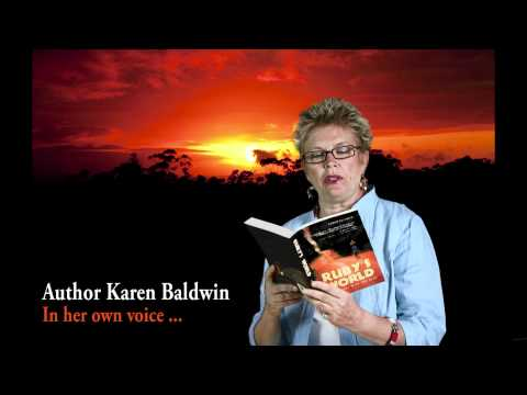 Author Karen Baldwin – In Her Own Words – Reading from Ruby's World – My Journey with the Zulu