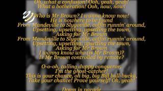 "Bob Marley ""Mr Brown"" (Lyrics-Letras)"