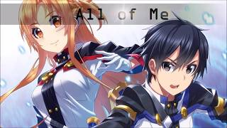 Nightcore - All of Me(Switching Vocals)