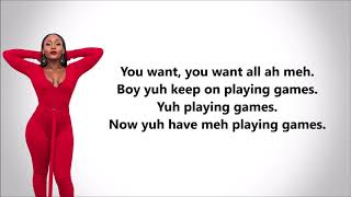 Nailah Blackman- Games (Lyrics)