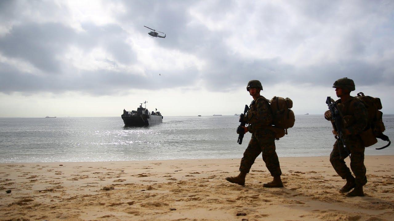 Dutch & German Marines • Train Off Scottish Coast