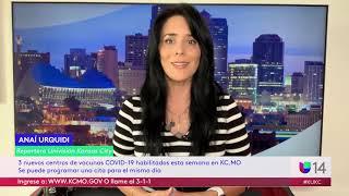 Habilitan 3 clínicas para vacunas COVID-19 en Kansas City, Missouri