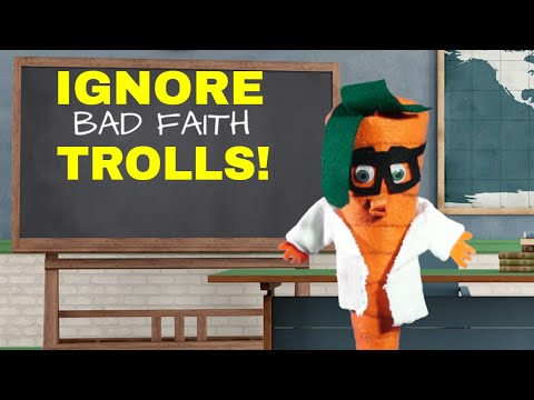 Stop Arguing with Trolls! -- Bad Faith Arguments and YOU! (Breadville Puppet Theater)