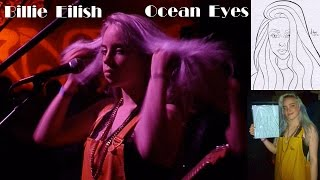 "Billie Eilish ""Ocean Eyes"" Live Performance Los Angeles, CA October 10, 2016"