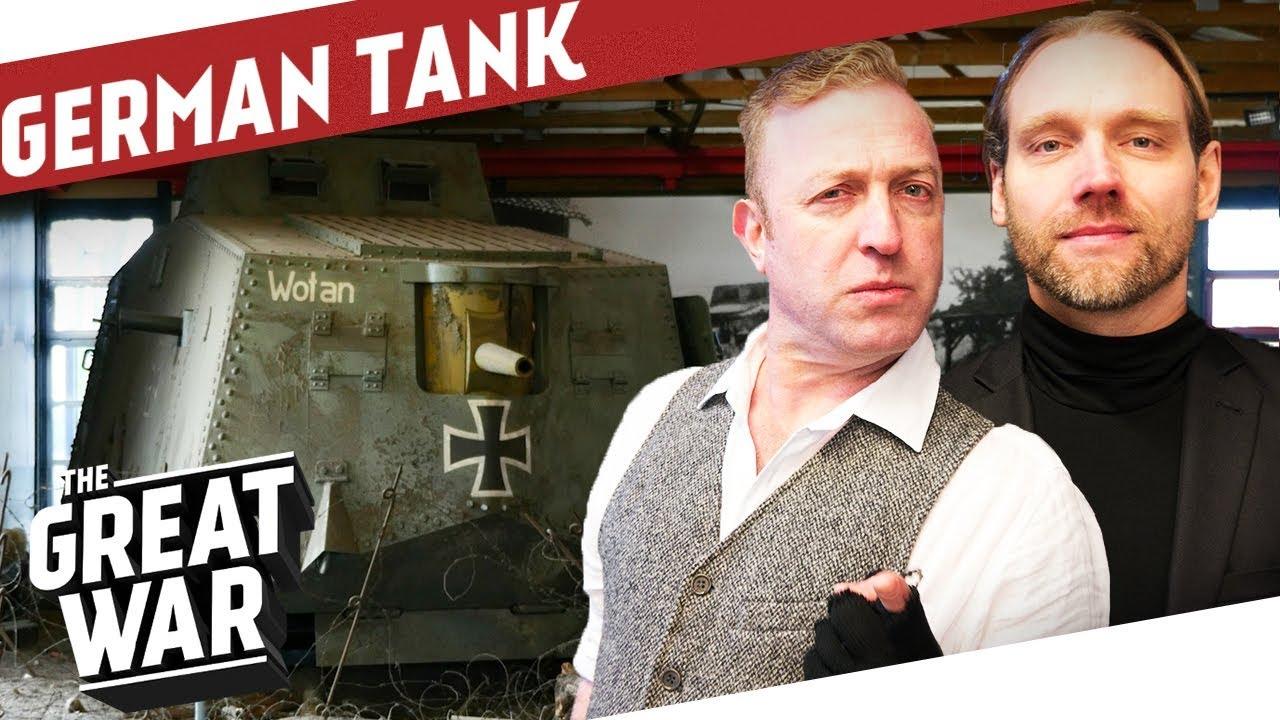 Inside the German A7V WW1 Tank