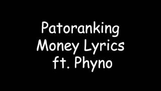 Patoranking - Money Ft. Phyno ( Video Official Lyrics)