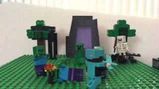 Lego Minecraft: Unofficial Enchanted Music Video