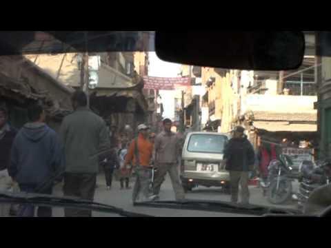 taxi ride in kathmandu