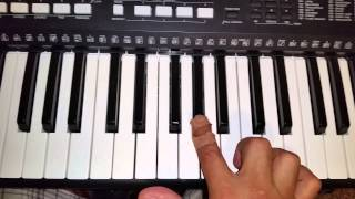 Luke Christopher - lot to learn piano riff